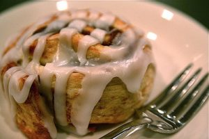 Delicious cinnamon buns
